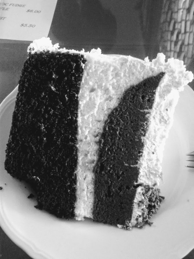 Of chocolate cake and copious amounts ofliquor
